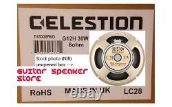 Celestion G12h Anniversaire 30w 8 Ohm Fabriqué Au Royaume-uni Haut-parleur De Guitare De 12 Pouces (nib)