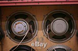 Celestion G12l T1692 1979 Haut-parleurs 25 Paire Plie Rouge Watts 4 Ohms Gratuit Frais De Ports