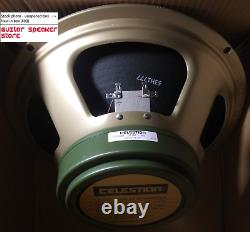 Celestion G12m 25w Greenback 8 Ohm Uk Haut-parleur De Guitare De 12 Pouces