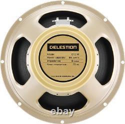 Celestion G12m-65 Creamback 8 65w 75hz 12 Haut-parleur De Guitare Made In Uk T5864bwd