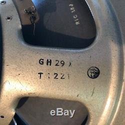 Celestion G12m Noir Haut Parleur 55hz 16 Ohms R / C Cône Initial T1221 Trame 1975