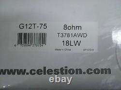 Celestion G12t-75 12 75w 8 Classic 80s Guitare En Métal Haut-parleur Yngwie Malmsteen