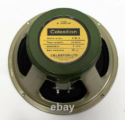 Celestion Heritage G12h 12 30 Watts De Remplacement Guitar Speaker 8 Ohm