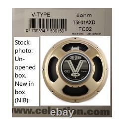 Celestion V-type 8 Ohm 12 Pouces 70w 75hz Haut-parleur Guitare Nouveau Vintage Céramique