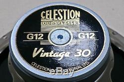 Celestion Vintage 30 Haut-parleur Amplificateur Guitare 12 Pouces, 8 Ohms, 30 Watts
