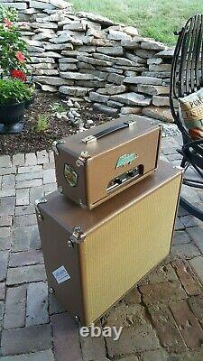 Chez Mars Torque Filmosound Guitar Amplificateur Head And Speaker Cabinet