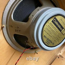 Couple Assorti 2x Vintage 1973 Celestion G12m 25w T1511 Creamback 12 Haut-parleurs Ric
