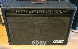 Crate 2x12 Guitar Combo Amplificateur Gx-130c. Chœur. Reverb. 12 Haut-parleurs. 130 W