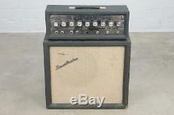 Danelectro Dm25 Guitare Tube Amplifier Amp Et Cabinet 12 Jensen Président # 40333