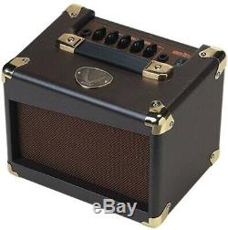 Dean Da20 20 Watt Amplificateur Guitare Acoustique Avec Prise Casque Et 2 Haut-parleurs 5