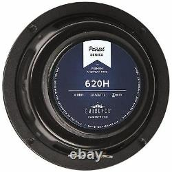 Eminence 620h 6.5 Guitar Speaker 4 Ohm Hemp Cone Patriot Series Livraison Gratuite