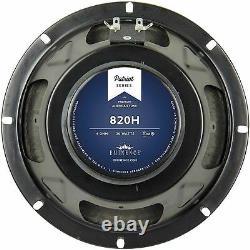 Eminence 820h 8 Guitare Haut-parleur 4 Ohm Hemp Cone Patriot Series Fender Champ