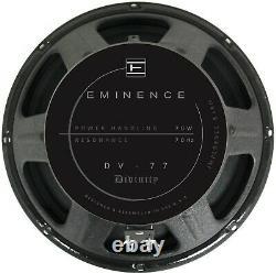 Eminence Dv-77 12 Guitar Speaker Par Mick Thompson De Slipknot