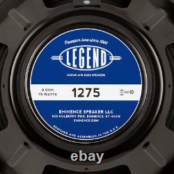Éminence Légende 1275 12 8 Ohm Rhythme De Plomb Guitare 75 W Haut-parleur De Remplacement