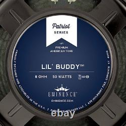Eminence Patriot Lil'buddy 10 Pouces Lead Rhythm Guitar Speaker 8 Ohm 50 Watt Rms