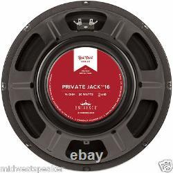 Eminence Private Jack 12 British Tone Guitar Speaker 16 Ohm Livraison Gratuite