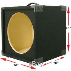 Enceinte Compacte Pour Enceinte De Basse Compacte 1x15, Tapis Noir 440live Mbg1x15-bc