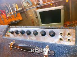 Enceinte D'ampli Guitare À Lampes Vintage Ampeg Mercury M-12a