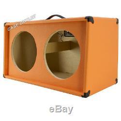 Enceinte De Guitare Vide 2x12 Extensions Orange Tolex G2x12sl-otl