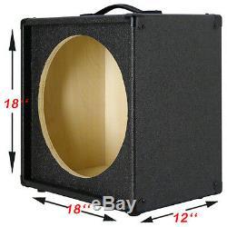 Enceinte Guitare 1x15 Vide Pour 15 Tols Noir Charbon Jbl E130 Ou E140