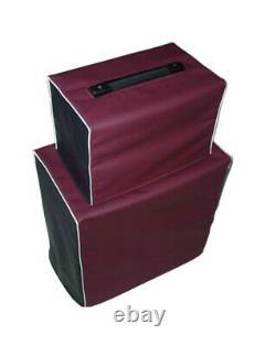 Epiphone Valve Jr Head & 1x12 Speaker Cabinet Vinyl Amp Couverts (epip006 Épip009)