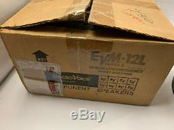 Ev Evm 12l Rare Pro-line 8 Ohms 12 300 Watt Guitare Subwoofer Series II