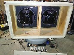 Fender 1963, 2 -12 Bassman Ext Speaker Cabinet