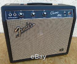 Fender Champ Blackface Amp Jbl Président Belle Combo Condition Amplifier 1967