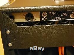 Fender Vibrosonic Reverb 15 Jbl Haut-parleur Tube Amp Large Des Navires Large