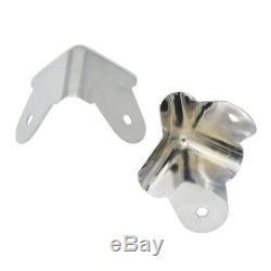 Fer Angle De Protection Pour Amplificateur Haut-parleur Guitare Cabinet Partie 8pcs