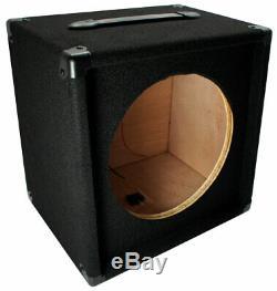 Guitare Électrique 1x12 Vide 12 Haut-parleur Tapis Cabinet Enceinte Boîte 1/4 Jack