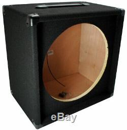 Guitare Électrique 1x15 Vide 15 Haut-parleur Tapis Cabinet Enceinte Boîte 1/4 Jack