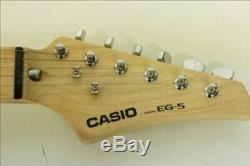 Guitare Electrique Intégrée Ampli Haut-parleur Cassio Eg-5 Eleking Casio