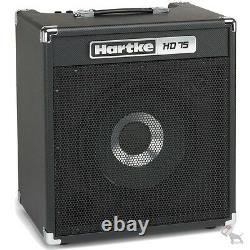 Hartke Hd75 75 Watt Solid State Bass Combo Amp Avec Haut-parleur Hydrive Single 12