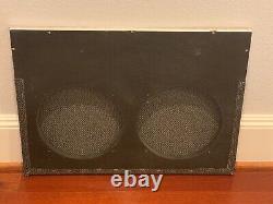 Haut-parleur Amplificateur Matchless Grill Avant Pour Deux Haut-parleurs De 10 Pouces Très Agréable