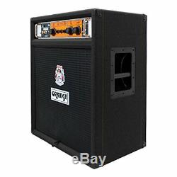 Haut-parleur Combo Ampli Guitare Basse Orange Ob1-300c 1x15 300w, Noir