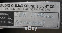 Haut-parleur D'ampli Guitare Jbl Modèle K140 Vintage 15 8 Ohms Rare Lansing