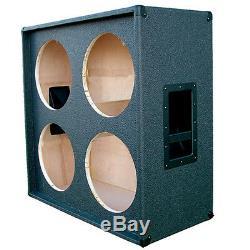 Haut-parleur De Guitare 4x12 Cabinet Vide Noir De Charbon Tolex G4x12st Cbtlx