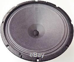 Haut-parleur Guitare Vor 12 Alnico 25 Watts 8 Ohms Nouveau Stock Jensen P12r Upgrade