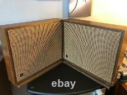 Haut-parleurs D'extension Sans Fil Vintage Pair Ge Sp-20b Avec Amplificateurs De Tube Guitar Amp