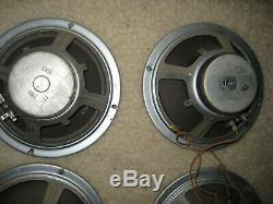 Haut-parleurs Vintage Traynor Ygm 4 Pour Ampli À Lampes Guitar Mate, 4 X 8