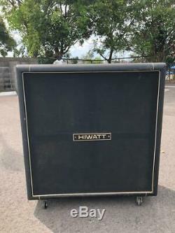 Hiwatt Enceinte Ampli Guitare Collection Spéciale Excellente Authentique