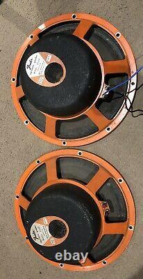 Jbl D120f Paire De Haut-parleurs De Guitare Vintage 12
