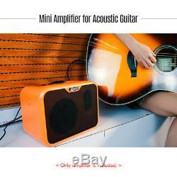 Joyo Ampli Guitare Électrique Portable Enceintes Ampli 10w Ukulélé + Dual Ch Y1t4