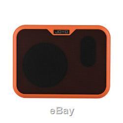 Joyo Amplificateur Guitare Électrique Portable Haut-parleurs Amp 10w Ukulele + Dual Ch G6z0