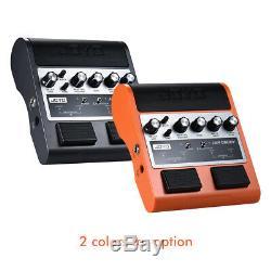 Joyo Jam 2 Amis-en-1 Pédale Portable Rechargeable Ampli Guitare Amp Haut-parleur