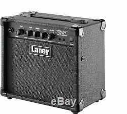 Laney Lx15 LX Series Amplificateur Combiné Guitare 15w Haut-parleurs 2 X 5 Pouces