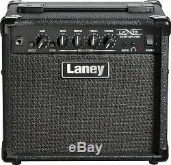 Laney Lx15 LX Series Guitar Combo Amplifier 15w 2 X 5 Pouces Haut-parleurs