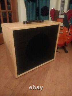 Le Cabinet Du Haut-parleur De Guitare. 1 X 12 Avec Eminence Jet City Speaker Usagé