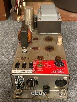 Leslie Speaker 147 Amplificateur Converti À Partir De 51 Amp -hammond Organ B3 C3 A100